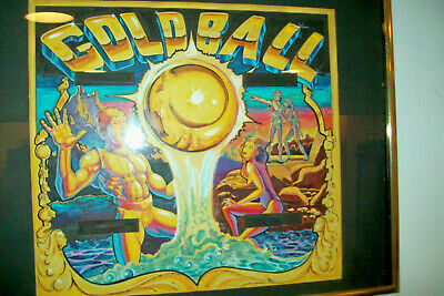 Limited Release Signed Black Pyramid Pinball Concept Backglass Art Print