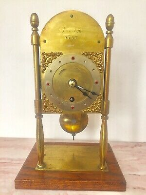 Antique English Made Single Fusee Mantle Clock 1797 London