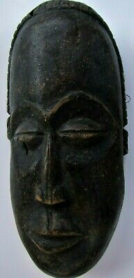African Carved Wood Mask - Some loss as shown