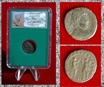 Roman Empire Coin CONSTANS Vcitories With Wreaths 323AD-350AD