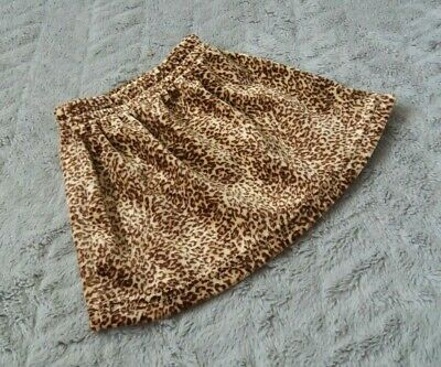 Baby Girls Leopard Pattern Style Mini Skirt (First Size)
