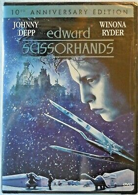 Edward Scissorhands (DVD, 2000, 10th Anniversary Edition)