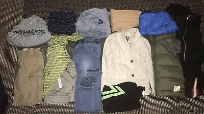 Boys Size 7 Bulk Lot Designer Clothes SEED Bardot Country ROAd H&M Winter