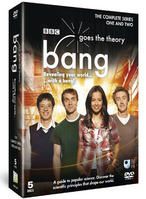 Bang Goes the Theory - Complete Series 1 & 2 NEW PAL Cult 5-DVD Set Liz Bonnin