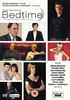 Bedtime - Entire Series 1-3 NEW PAL Cult 3-DVD Set Andy Hamilton Sheila Hancock