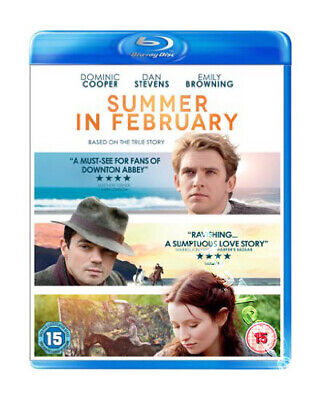 Summer in February NEW Cult Blu-Ray Disc Christopher Menaul Dominic Cooper