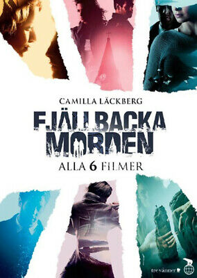 The Fjällbacka Murders Collection NEW PAL Cult 6-DVD Set Claudia Galli Sweden