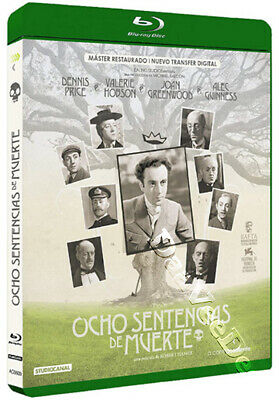 Kind Hearts and Coronets NEW Classic Blu-Ray Disc Robert Hamer Dennis Price