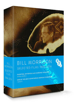 Bill Morrison (Selected Works 1996 - 2014) NEW Documentaries Blu-Ray 3-Disc Set