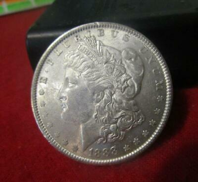 1888 Uncirculated Morgan Silver Dollar.                              #MF-1793