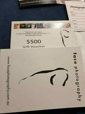 $500 Photography gift voucher