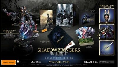 Final Fantasy XIV Shadow Bringers Collector's Edition PS4 AUS PAL