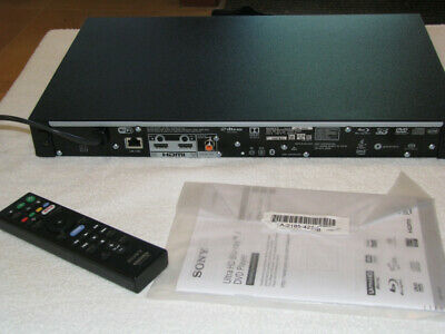 Sony UBP-X800 4K Blu-ray Player - Ultra High Definition Video and Audio UBPX800