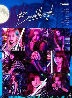 TWICE Japan 5th Single [Breakthrough] Type B (CD + DVD) Limited Edition
