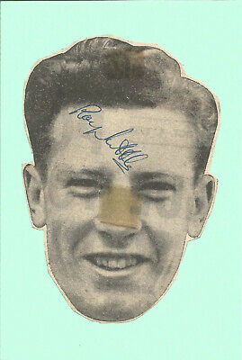 Football Autograph Roy Little Manchester City Signed Newspaper Photograph F1341