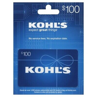 $100 Kohls Gift Card - Email Delivery