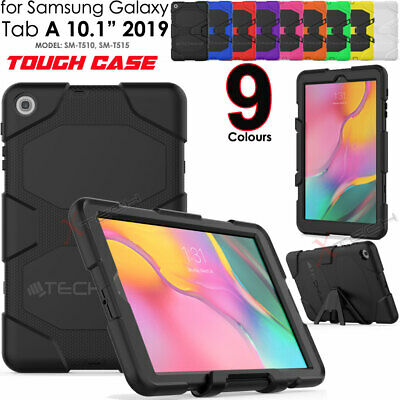 "for Samsung Tab A 10.1"" 2019 T510 Tough HEAVY DUTY Rugged Shock Survival Case"
