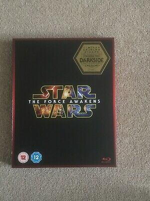 Star Wars The Force Awakens Blu-Ray (Darkside Slipcover)