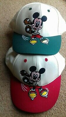 Vintage Micky  Mouse New  Kids Disney Character Cap ✴ one supplied ✴