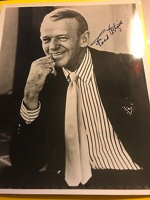 Fred Astaire Autographed 8x10 Photo