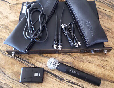 Shure SM58 UA UC(782-806 Mhz) wireless microphone system slightly used excellent