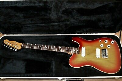 Fender Telecaster Elite 1983 Sunburst with case and accessories - immaculate!