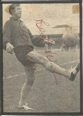 Football Autograph Colin Webster Manchester United Signed Newspaper Photo F1365