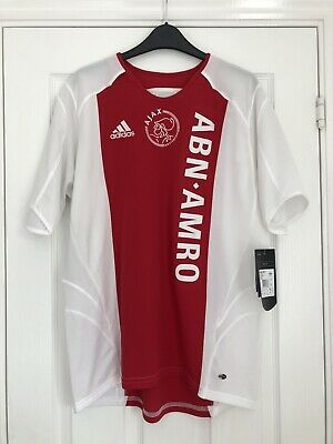 8ee7de6e21dd BRAND NEW WITH TAGS Ajax Amsterdam 2005-06 Football Shirt Size: Youth XL