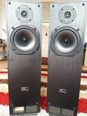 TDL STUDIO 3 transmission line speakers - Black High Gloss
