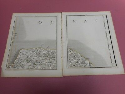 100% Original Norfolk Holt Kings Lynn  Maps X By John Cary C1794 Vgc Low Start
