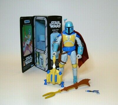 Star Wars Black Series 6 inch BOBA FETT HOLIDAY SPECIAL Kenner Style Box Custom