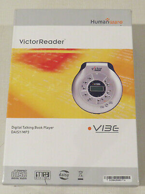 VictorReader, Humanware, Vibe, Digital Talking Book Player, Daisy/MP3