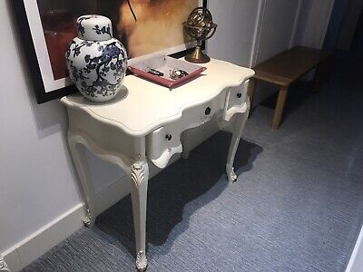 Shabby Chic French Country Style Dressing/Console Table 3 Drawer