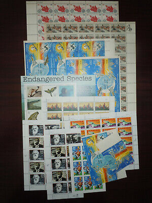 US USA MINT POSTAGE in Sheets, Strips & Blocks $55 Face Value Lot L