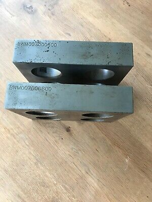 Pair Of Large Hardened Engineering/ Metrology/ Inspection Parallels 180mm