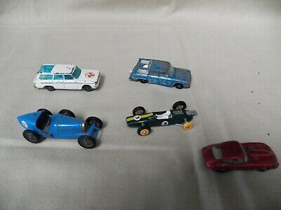 1960s LOT OF 5 MATCHBOX and 1 Husky DIECAST CARS look