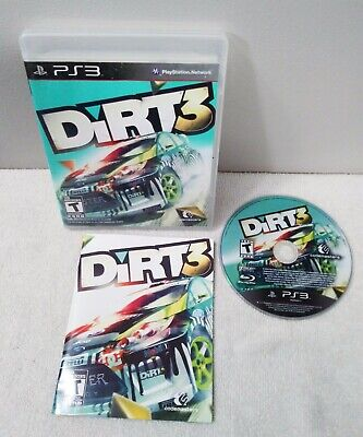Dirt 3 Sony PlayStation 3 PS3 Game Complete With Manual - Tested!