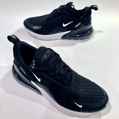 AIR MAX 270 Black White Men's Running Shoes AH8050-002 Size 10 FREE SHIPPING