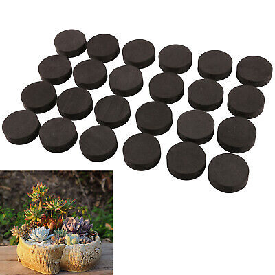 60 x Flower Pot Feet Invisible Plant Pot Risers Rubber Low Profile Feet Decor