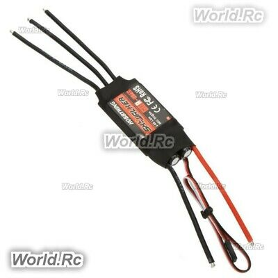 2x Hobbywing Skywalker 2-6S 60A UBEC Brushless ESC With 5V5A BEC For RC Airplane