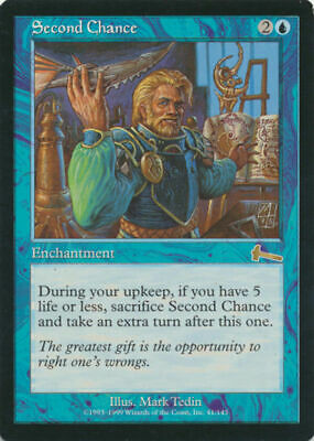 SECOND CHANCE Magic: The Gathering URZA'S LEGACY MTG RESERVED LIST LP Light Play