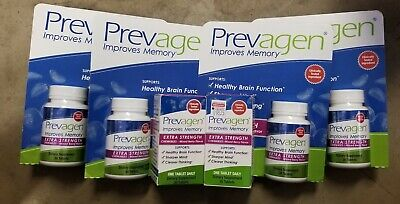 Prevagen Extra Strength Chewables Tablets Mixed Berry 30 Ct X 6 = 180 Tablets!!