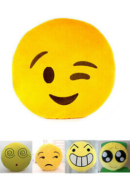 Emoji Soft Cushion Lovely Cute Gift Doll Home Decor Smile Toy Plush Stuffed Kids