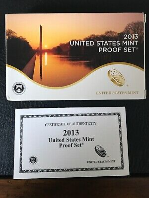 2013 United States Proof Set - 14-Coin - U.S. Mint - Official Genuine Authentic
