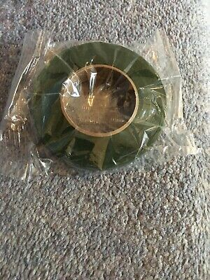 Five Reels of Moss Green Florist Floral 13mm Tape. Ideal For Button Holes