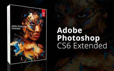 Adobe photoshop CS6 + Key activation LIFETIME | Windows | Fast delivery | NEW!!