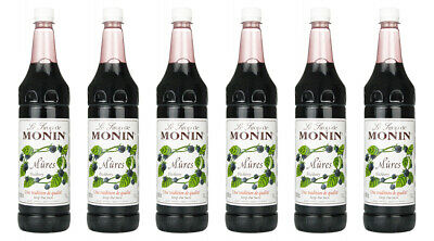 Monin Sirup Brombeere, 1,0L PET, 6er Pack