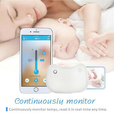 Koogeek Wearable Smart Baby Thermometer Accurate 24H Continuous Monitoring D9A9