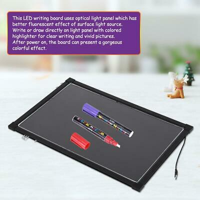 LED light up Drawing board Sensory Kids Toy Board Writing Special Need Autism