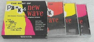 Various ‎– The Best Of Punk & New Wave. 3 CD set in cardboard box